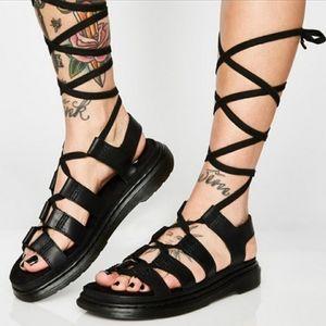 Dr. Martens Kristina New Oilie Gladiator Sandal
